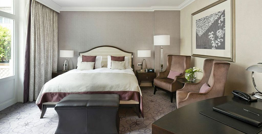 Choose from a stylish Superior Room