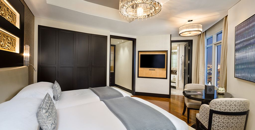 Settle in to a Superior Room