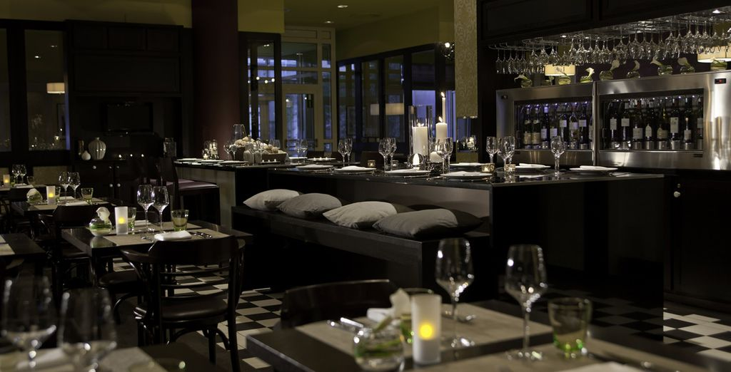 Then head to the restaurant for delicious dishes to ...