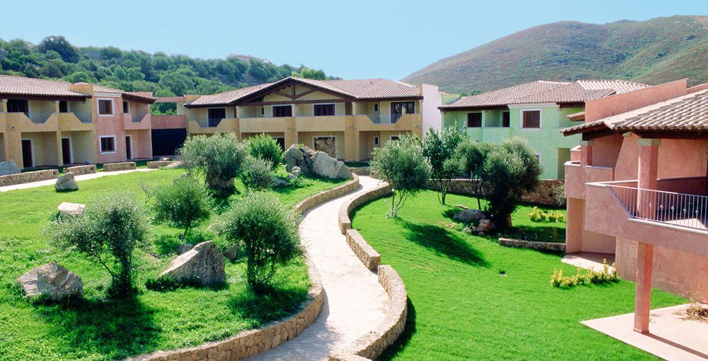 Stay at Residence Le Corti di Marinella