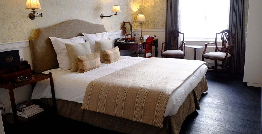 Where you will have the choice of staying in the Charming Plus Room...