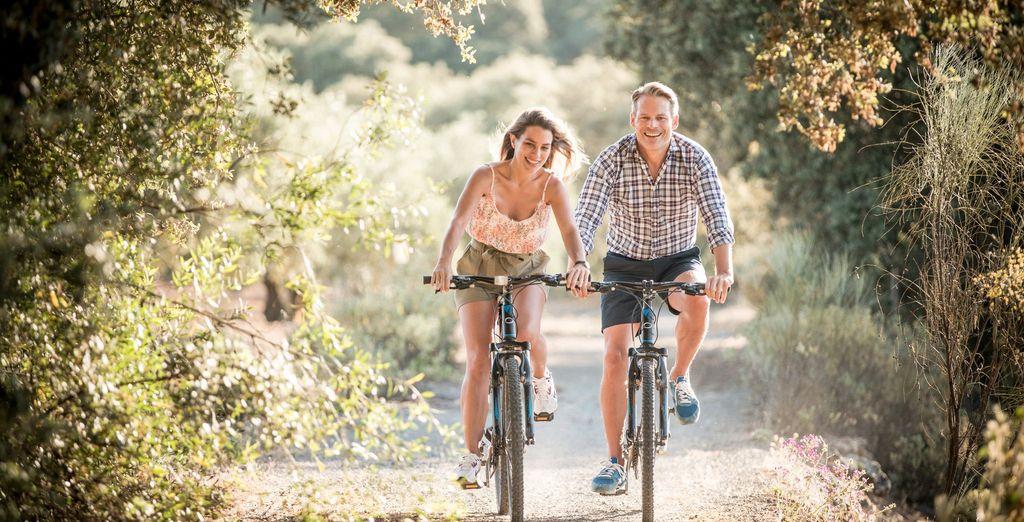Or on bike