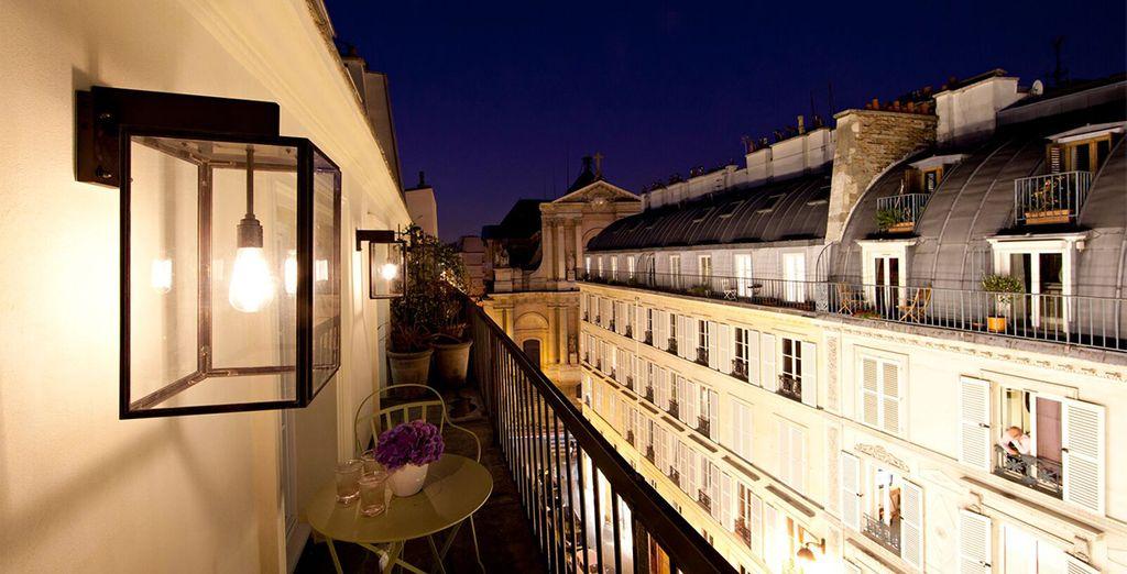 Enjoy staying in a historic part of Paris - Le Pradey 4* Paris