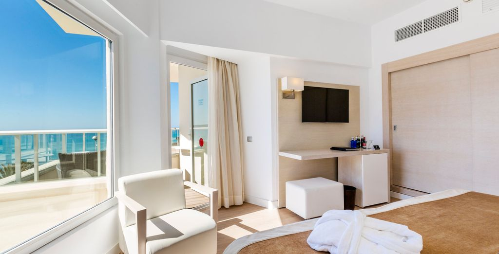 Or choose the Double Room with Sea View