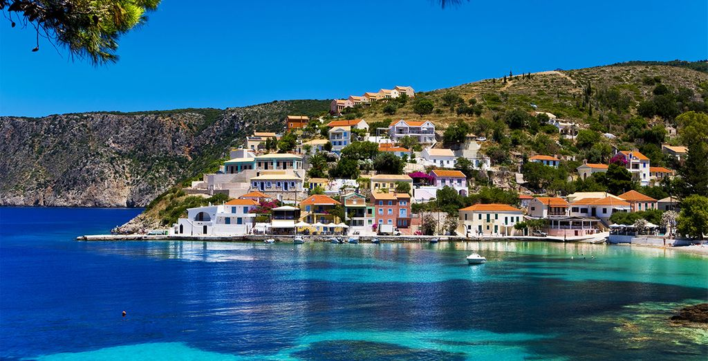 To the island of Cephalonia