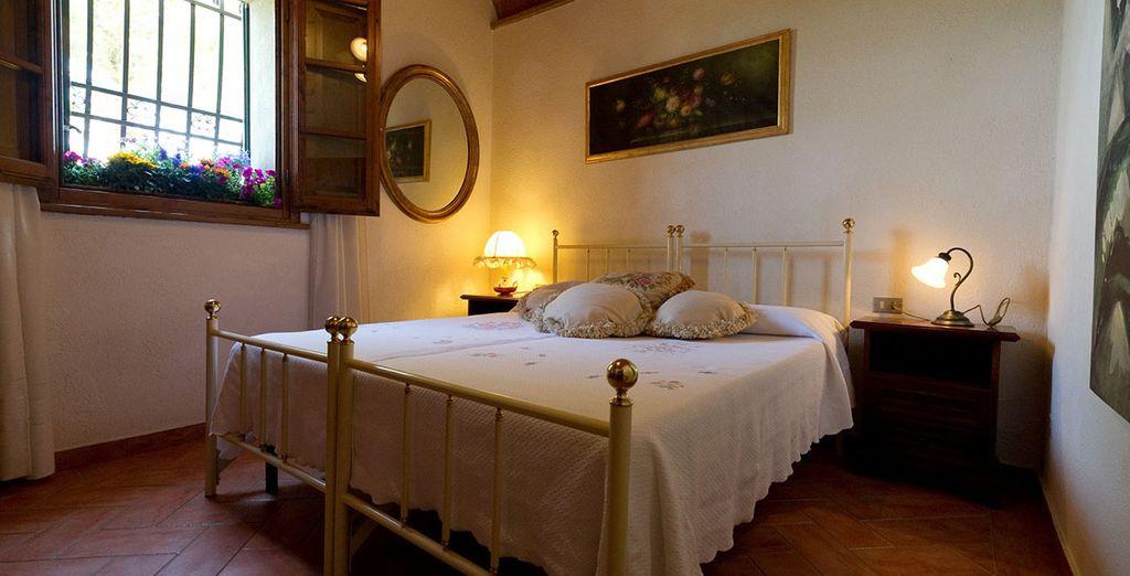 Charming, comfortable, with classic Italian furnishings