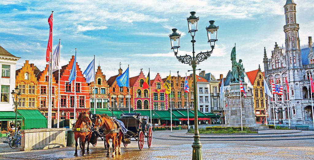 Then head out to conquer Bruges, the Venise of the North