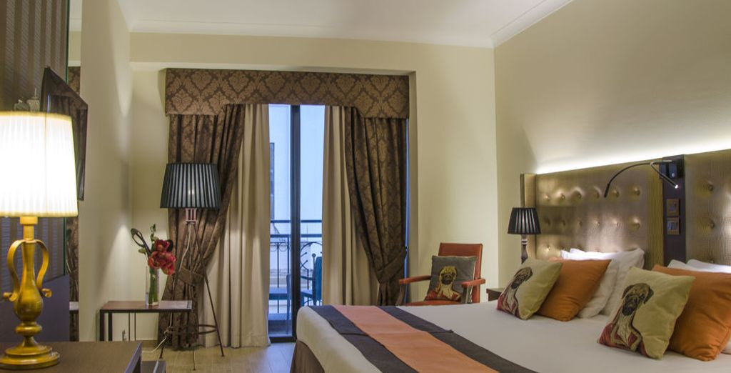 Or choose this elegant Superior room