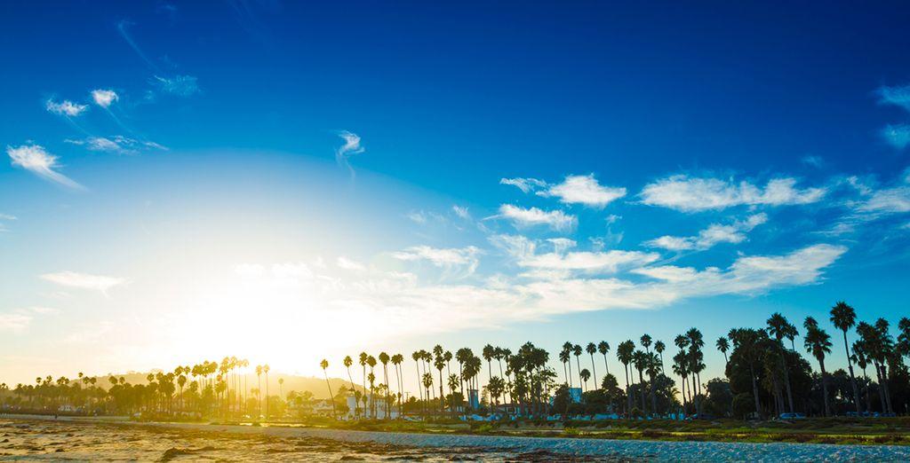 Next stop at Santa Barbara