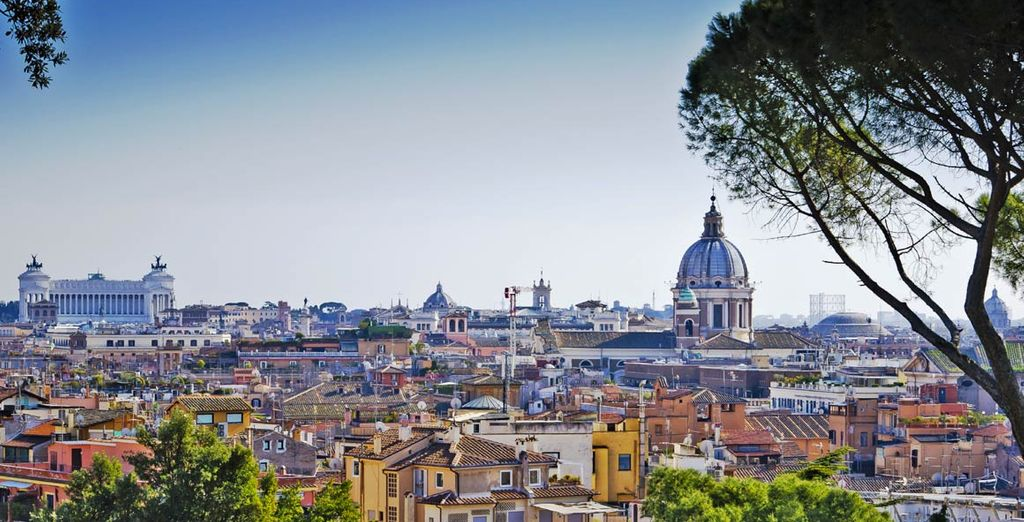 In the eternal city of Rome