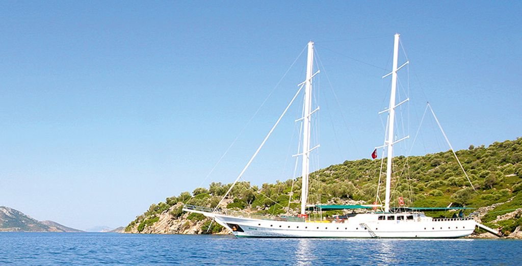 Turkish Gulet Cruise - Seyhan Jan - Gulet Cruise - Turkey Marmaris
