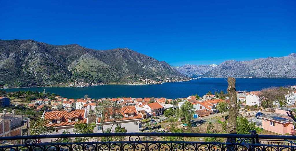 Over the magnificent Kotor Bay, Montenegro - Sunset Apartments Kotor Bay Kotor