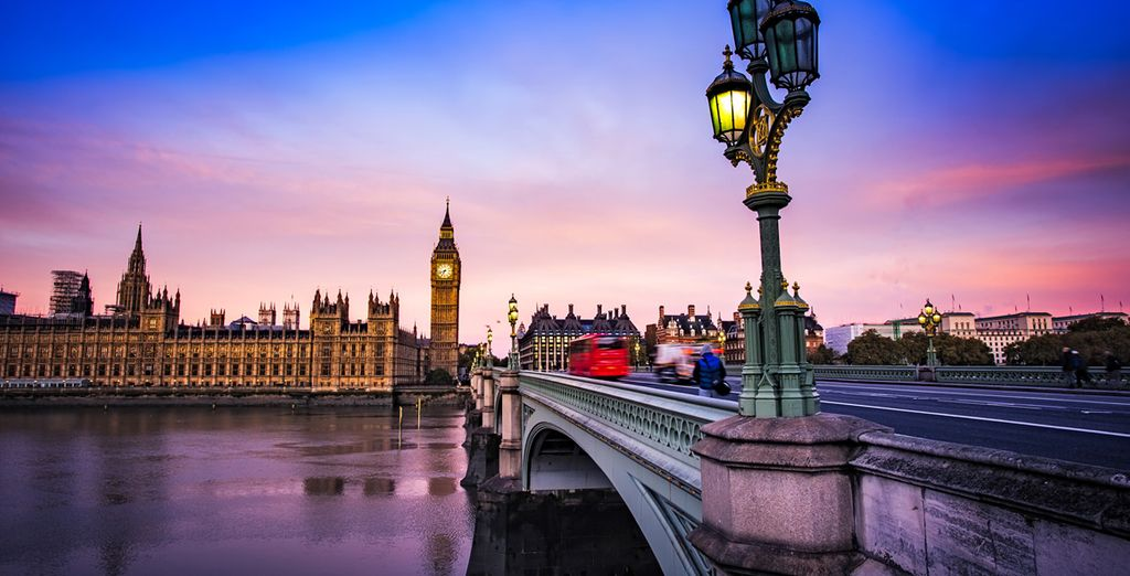 Or stroll along the Thames River for sunset