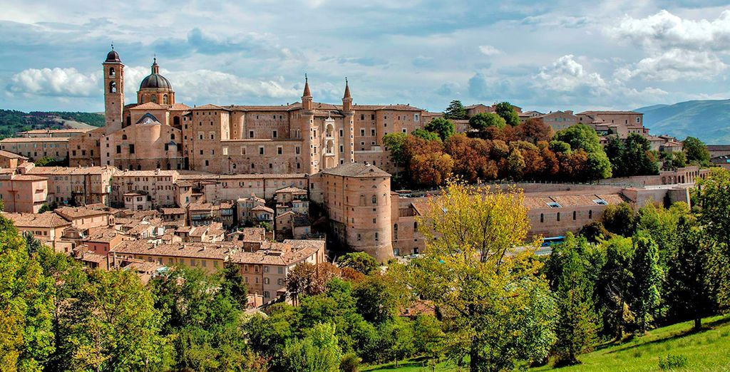 Deemed a world Heritage Site, Urbino is a vibrant and historically rich medieval city