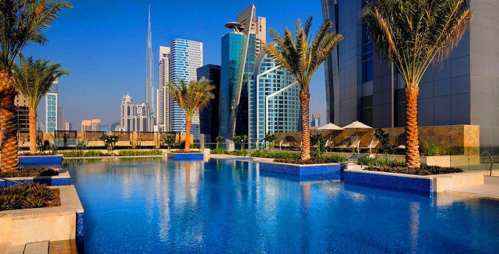 Add a luxury stopover in Dubai