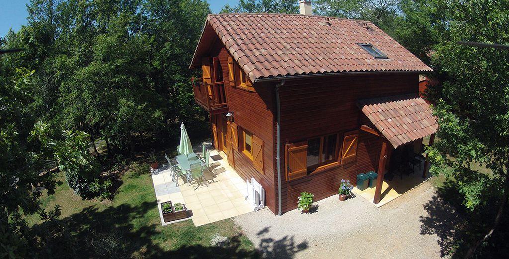 Choose between the 4-Bedroom Dordogne Lodge