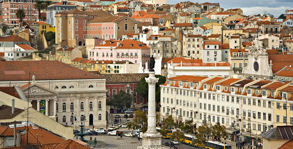 Explore historic Lisbon!