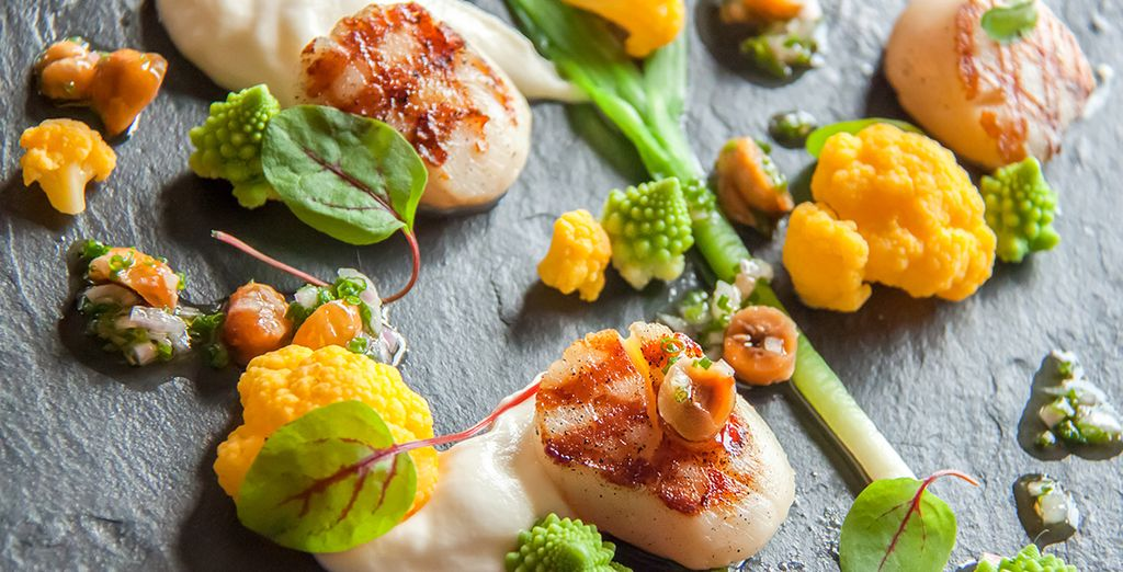 Where you can delight your tastebuds with exquisitely prepared food
