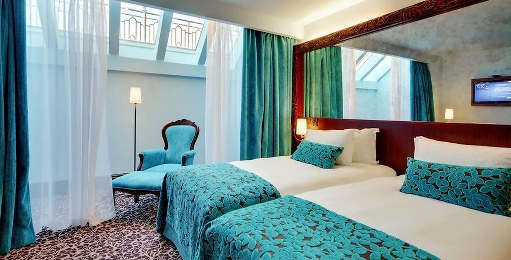 Where the rooms will offer stunning comforts