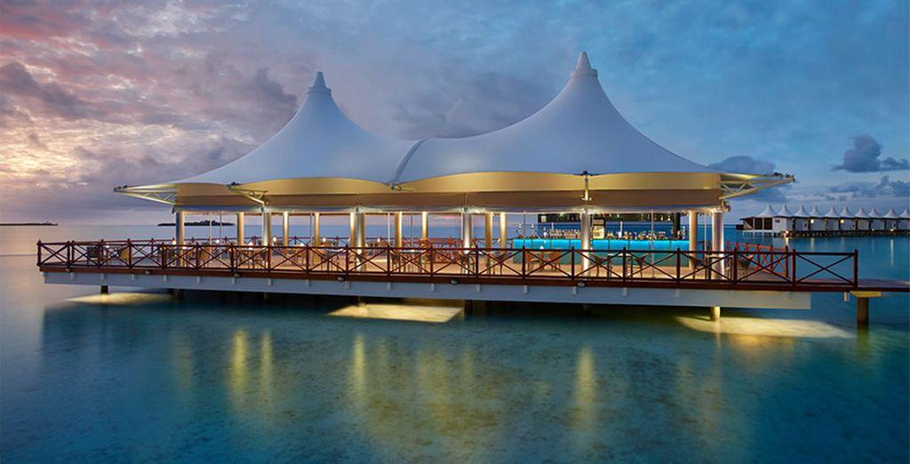 Blissful tropical shores await...