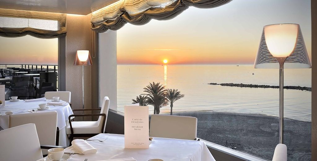 How about dining at sun set for a truly romantic break?