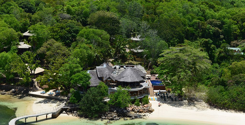 Experience island life at Cerf Resort