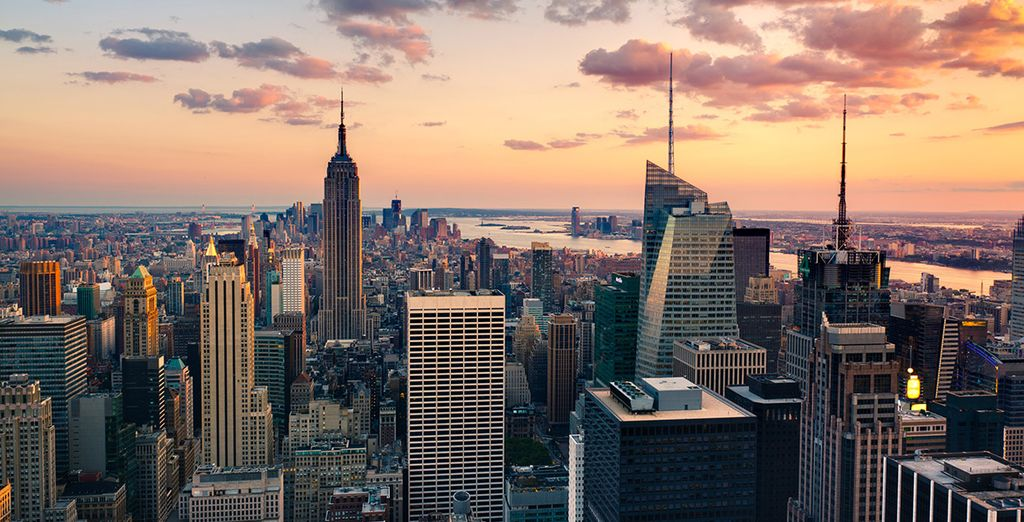 Begin in the Big Apple with a 3 night hotel stay
