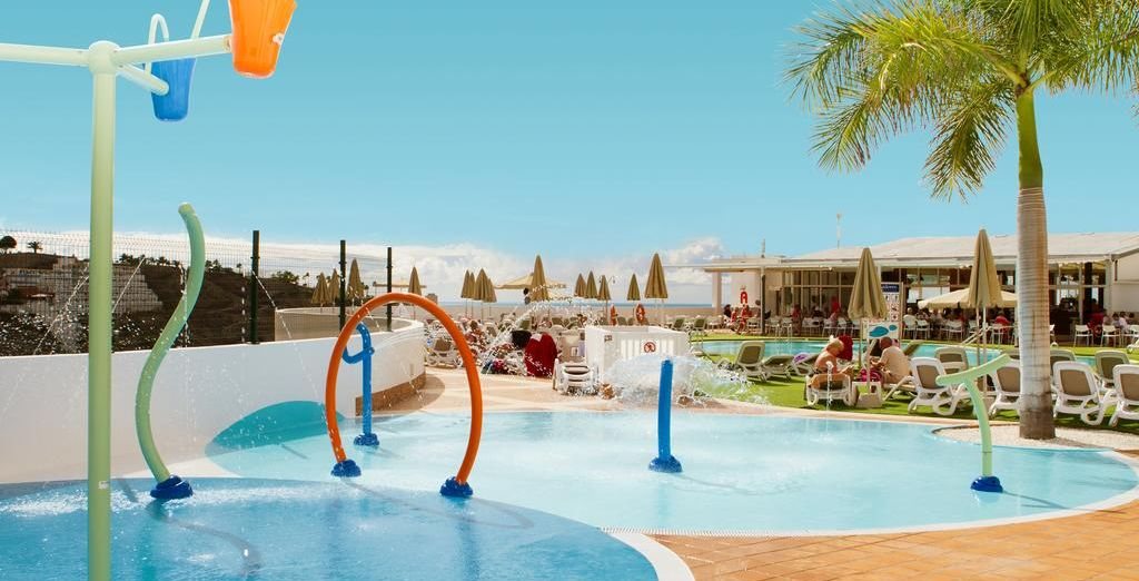 Waterpark in Gan Canaria