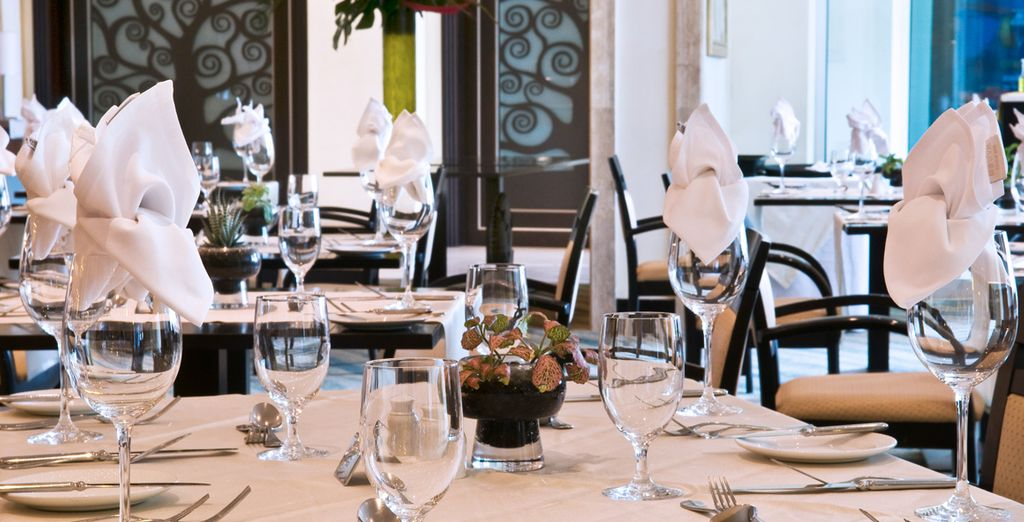 Choose from casual to fine dining, all with 10% off