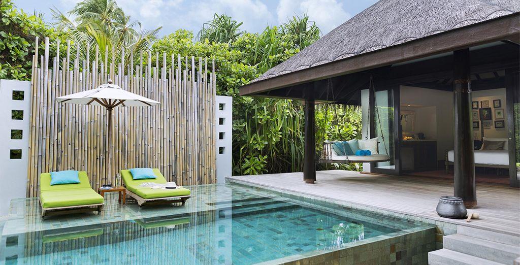 Choose from a Beach Pool Villa