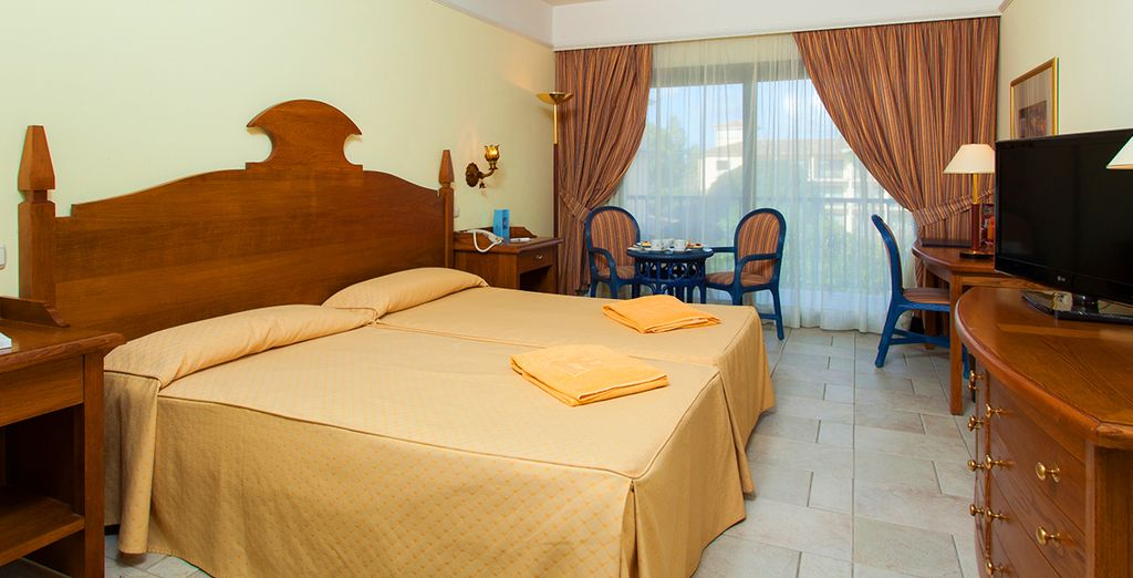 Our members can enjoy a spacious room