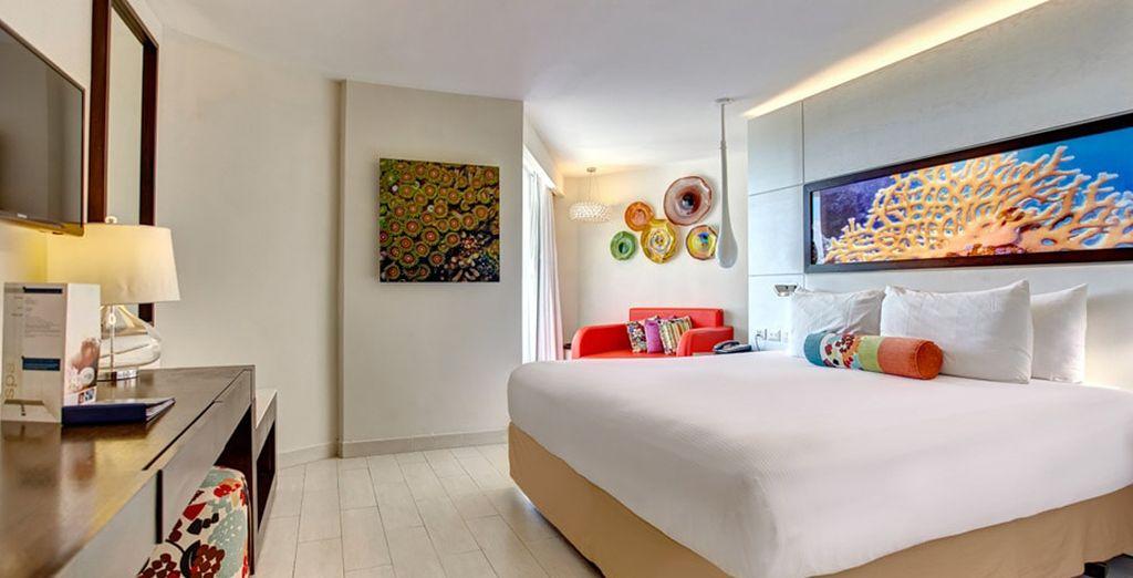 Stay in a Luxury Ocean View Room