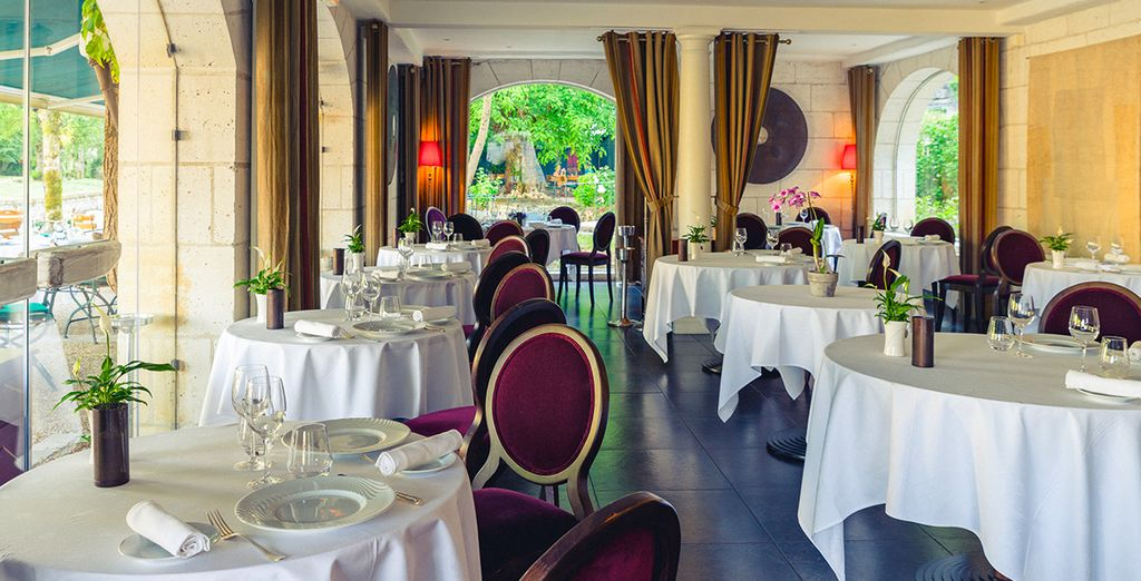 And a gourmet restaurant, recently awarded 1 star in the Michelin Guide