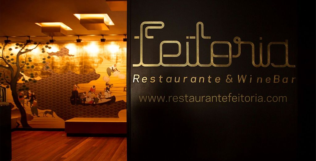 And a complimentary dinner at Feitoria Restauramt
