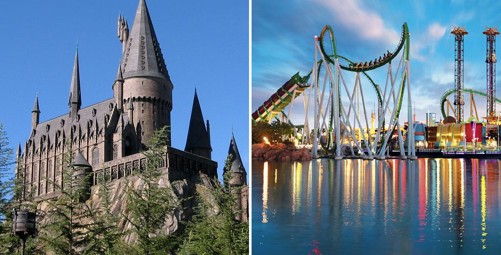 Have the time of your life at Orlando's world-class theme parks