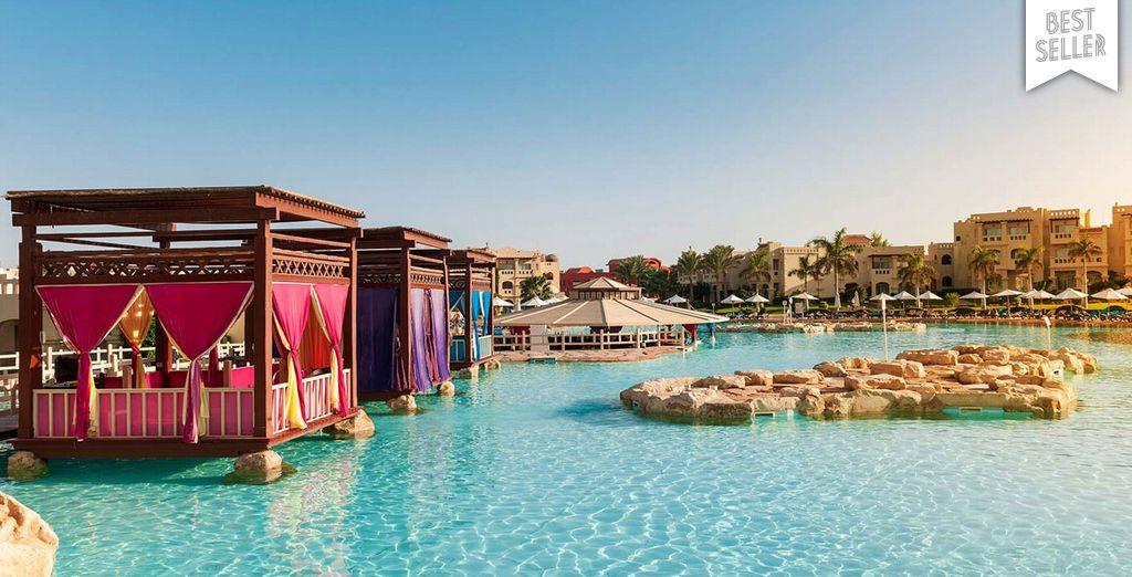 Poolside bliss in Egypt - Rixos Sharm El Sheikh 5* Sharm El Sheikh