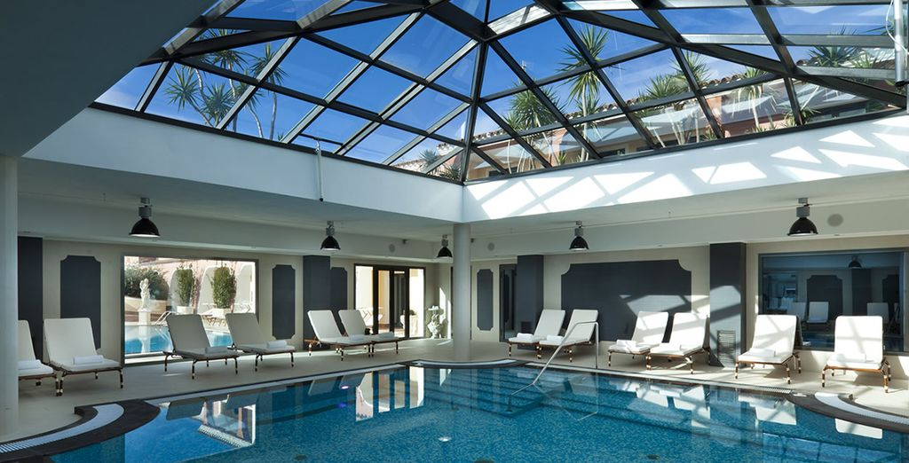This hotel is also home to an impressive spa
