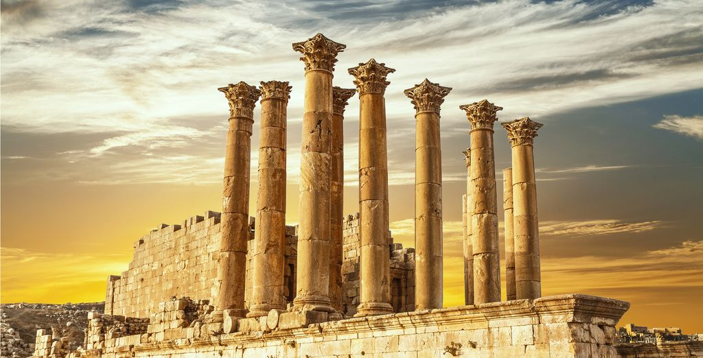 Unearth Jerash, 'the Jewel of the North'
