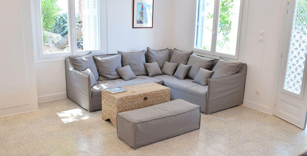 Comfortable furnishings (Executive Sea Front Room)