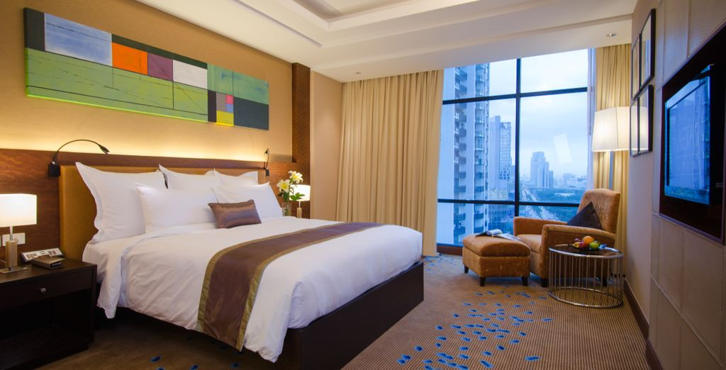 Where you'll stay in a Junior Suite