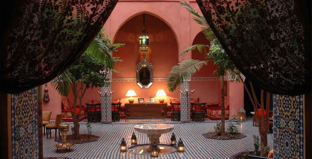 You will stay in authentically styled hotels and riads throughout (Dar Anebar Fes)