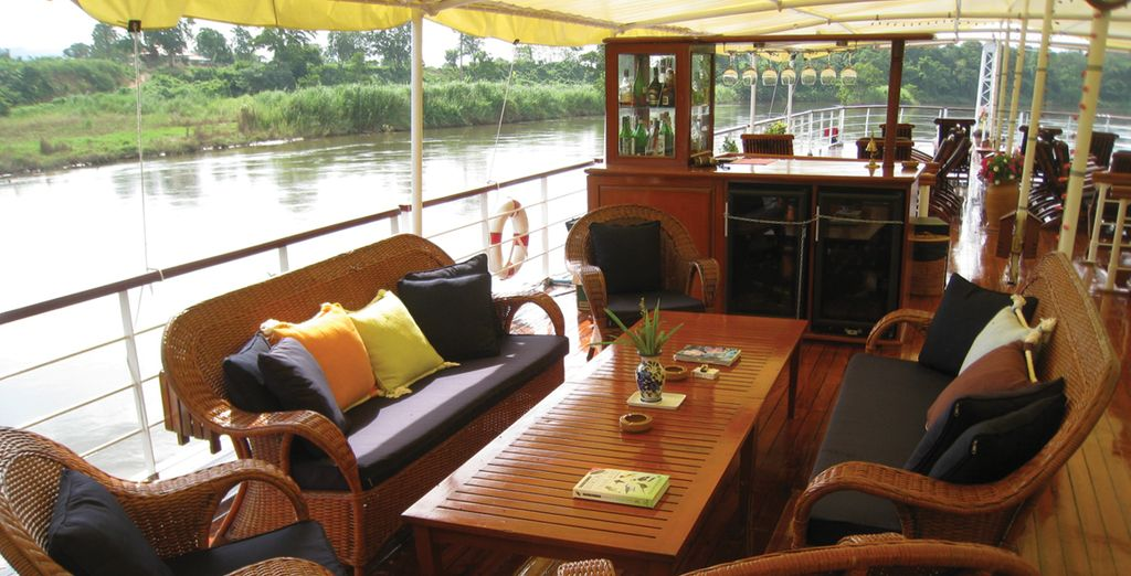 And enjoy your meals on board the boat