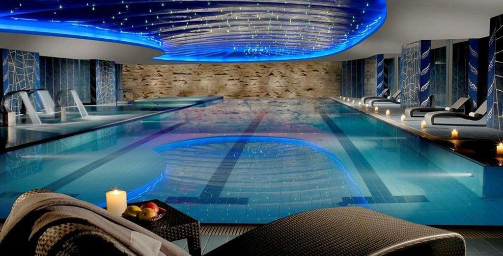 Alongside free access to the pool and spa