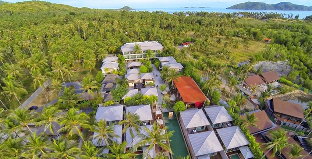 Hidden away in the secluded southwest of Koh Samui
