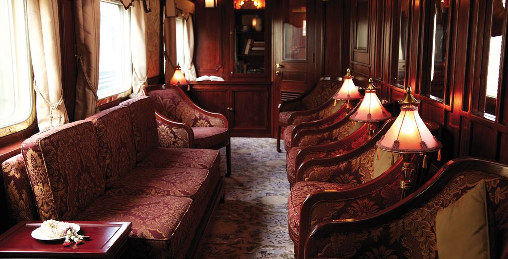 For an exceptionally luxurious 2 or 3 night rail journey