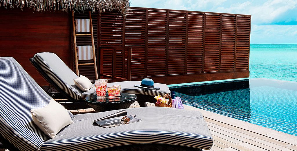 Complete with the ultimate luxury - a private pool