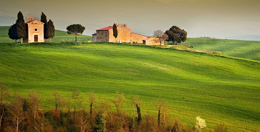 Relish the delights of Tuscany