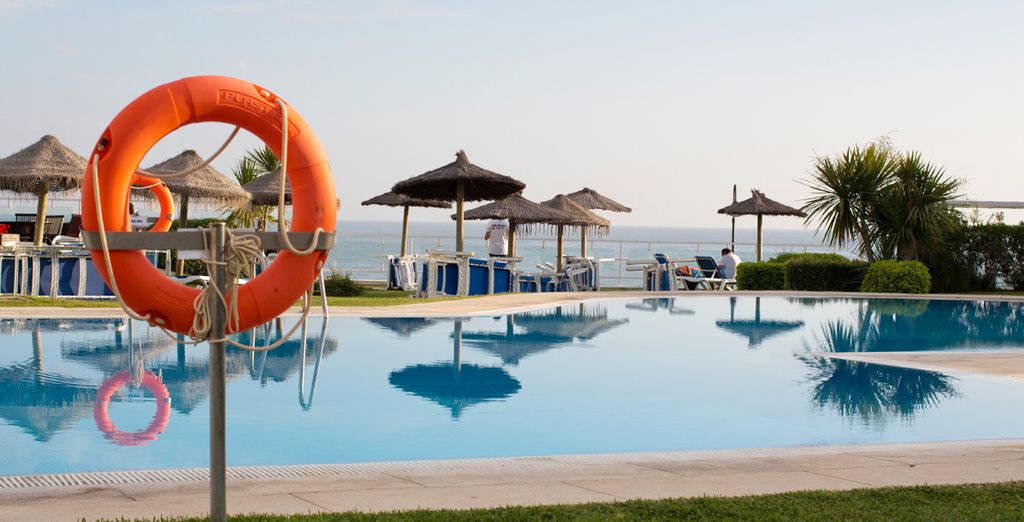 Relish open days by the poolside