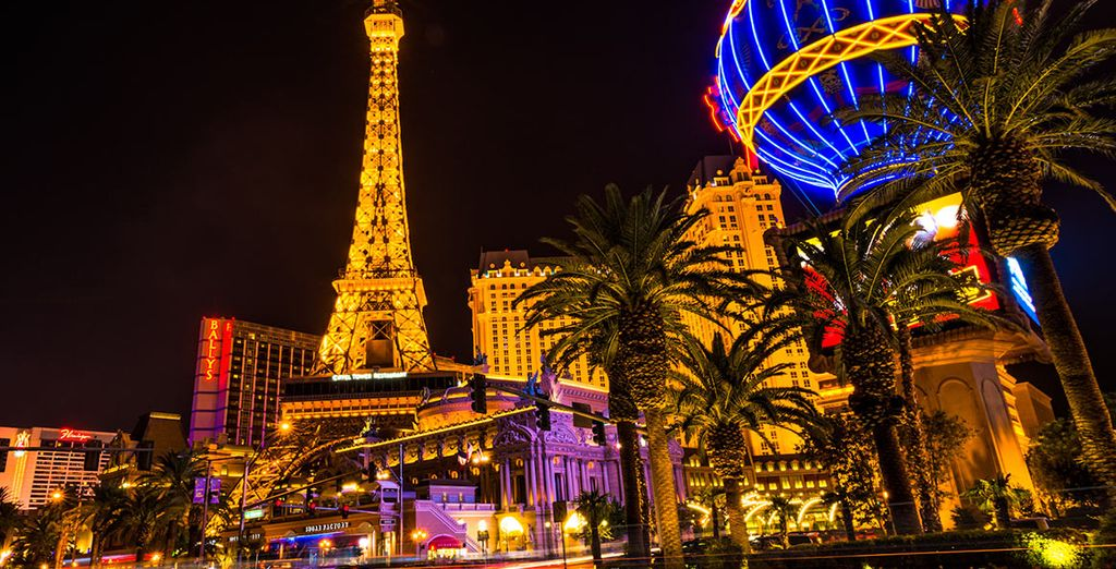 And incomparable Las Vegas
