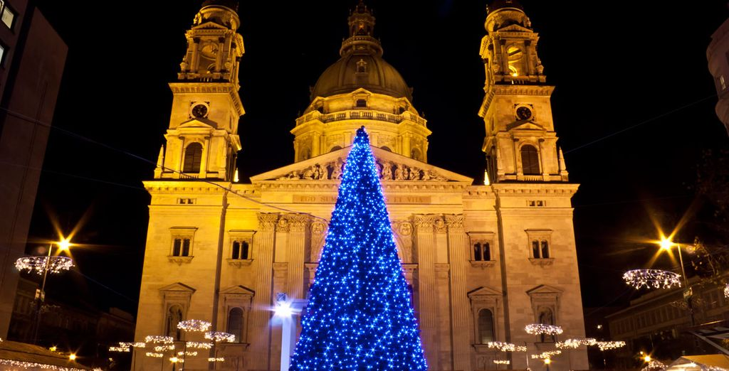 And stroll around the festive Christmas markets